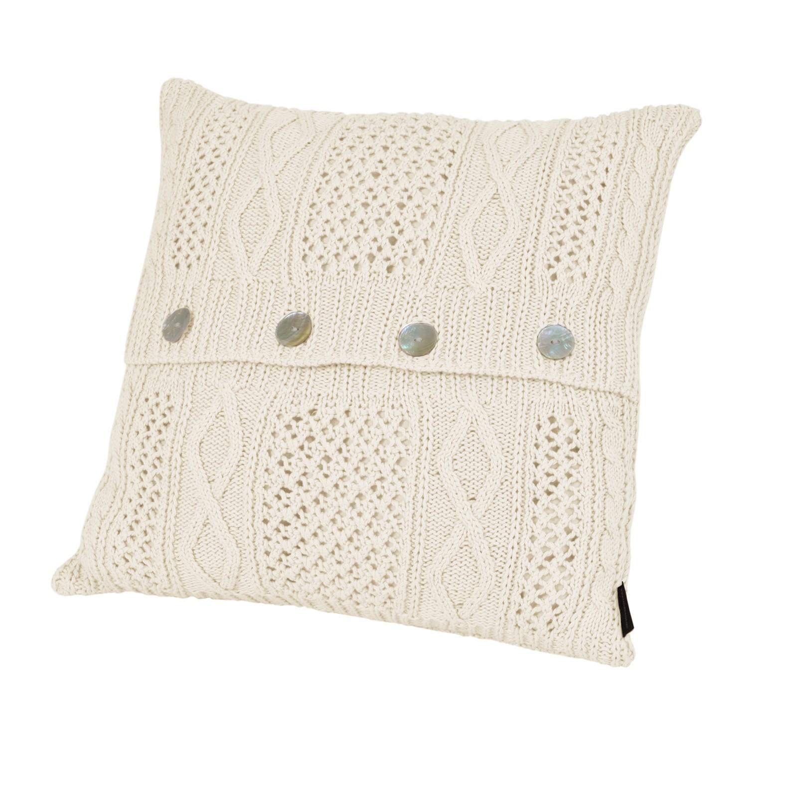 Элитная подушка декоративная Bradford слоновая кость от Casual Avenue