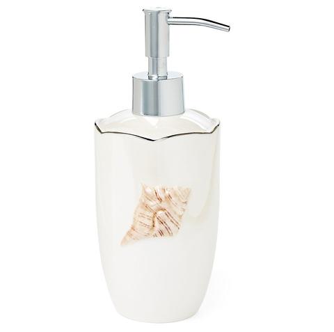Дозатор для жидкого мыла Mare Shells Pearl от Kassatex