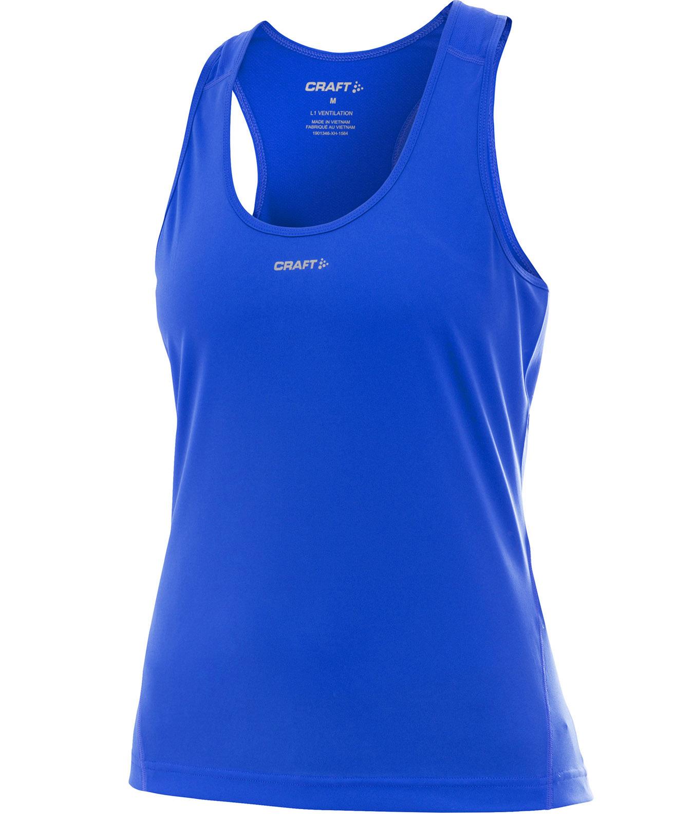 1901346-1345 Майка Craft Active Run женская синяя