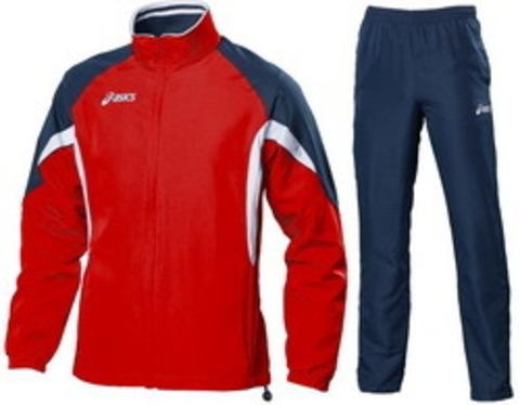 Мужской спортивный костюм ASICS SUIT EUROPE красный (T653Z5 2650)