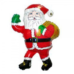 Дед мороз с подарками F 33