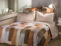 Постельное белье 2 спальное евро Caleffi Cromatic