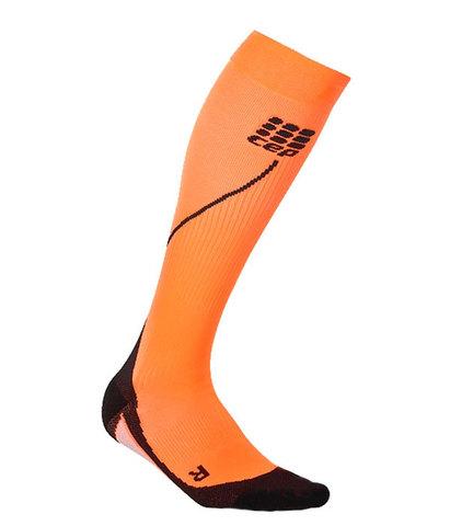 Женские зимние гольфы CEP orange  (C1NW Y)