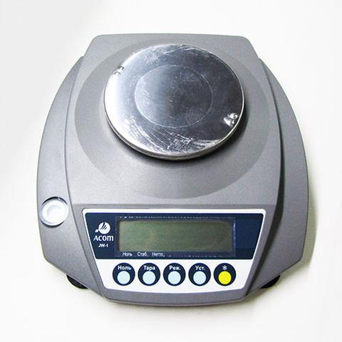Весы лабораторные Acom JW-1-2000
