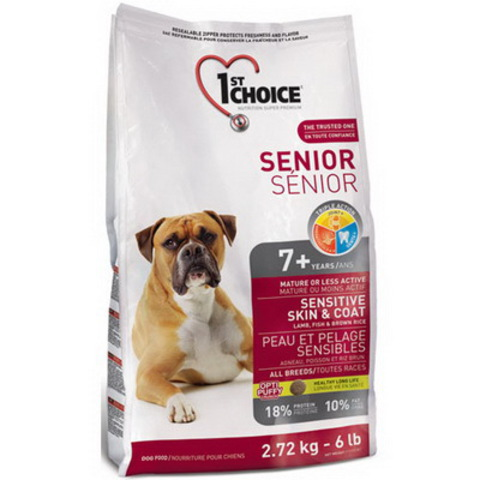 1st Choice Senior Dog Sensitive Skin&Coat