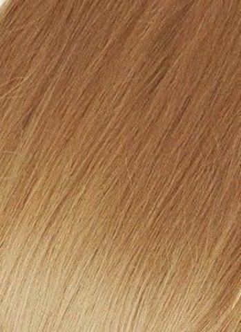 Накладка из натуральных волос Magic Strands -Оттенок-10-молочный шоколад-длина 38 см