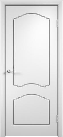 Дверь Верда Лидия, цвет белый, глухая
