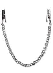 Зажимы на соски с цепью Nipple Chain Clips - Fetish Fantasy