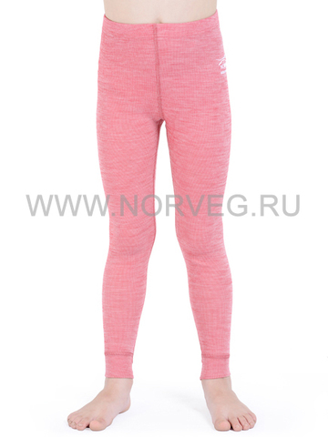 Терморейтузы из шерсти мериноса Norveg Soft Red Melange детские