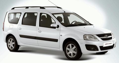Гарант Консул 23007.L для LADA LARGUS /2012-/ М5 R-назад Селектор №8200 670 972 (белый)