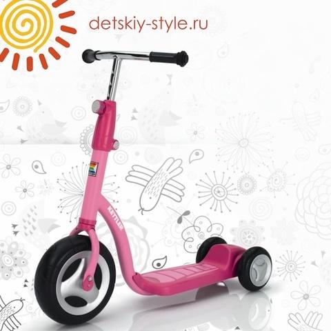 "Самокат Для Девочек Kettler ""Scooter Pink"" (Кетлер)"