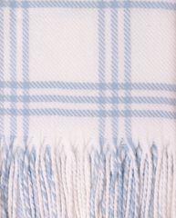 Элитный плед детский Lux 519 голубой от Luxberry
