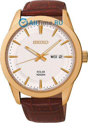 Купить Мужские японские наручные часы Seiko SNE366P2 по доступной цене