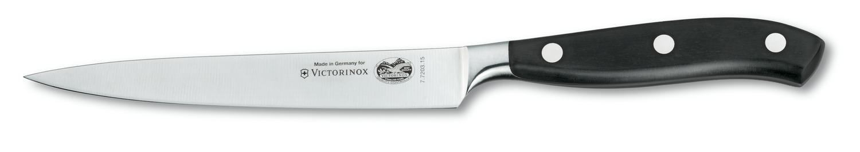 Нож для нарезки стейка кованый 15 см Victorinox (7.7203.15G)