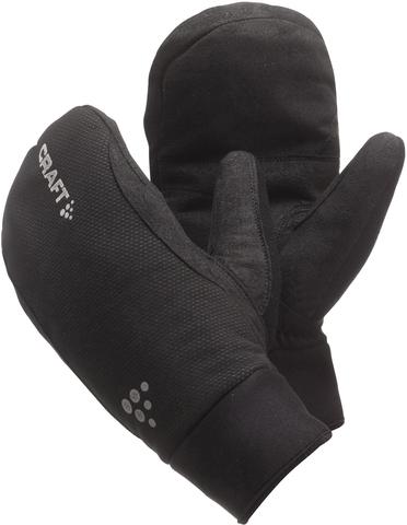 Варежки Craft Active черные Распродажа