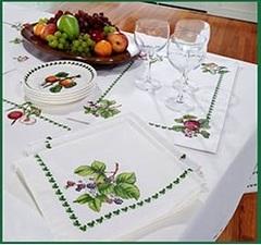 Салфетки 48x48 Avanti Pomona Table Cloth