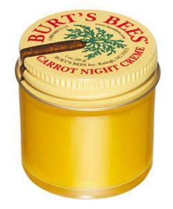 Ночной питательный крем с морковкой, Burt's Bees