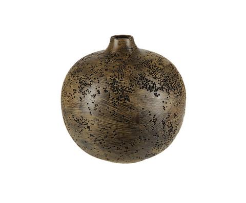 Элитная ваза декоративная Акрос малая бронзовая от Sporvil