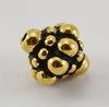 "Бусина TierraCast ""Pamada"" 8,5х8 мм (цвет-античное золото)"