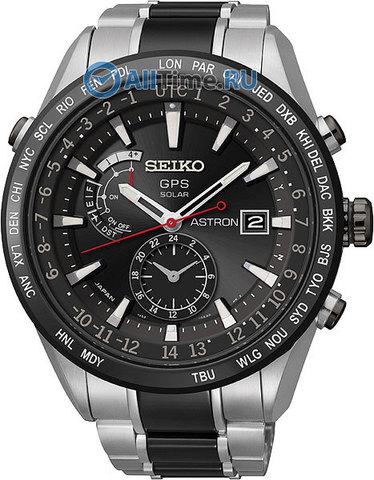 Купить Мужские японские наручные часы Seiko SAST015G по доступной цене
