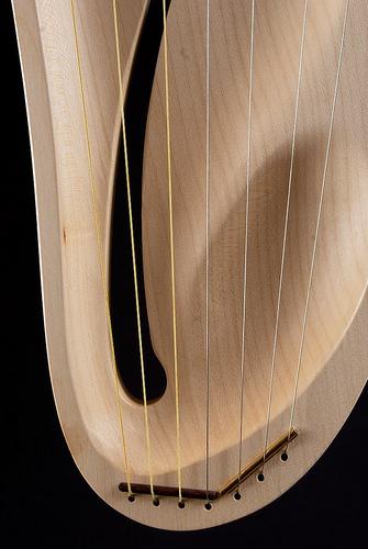 Лира детская пентатоническая, 7 струн (Auris)