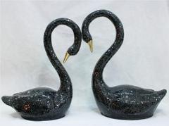 статуэтка напольная 11-25  лебеди Н 75 см
