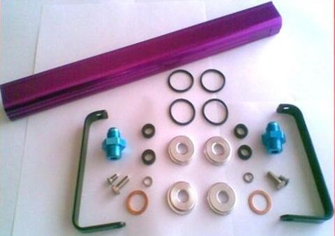 Топливная рейка Nissan 200sx S14 и S15 fuel rail kit SR20