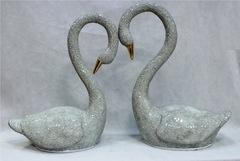 статуэтка напольная 11-27 лебеди Н75 см
