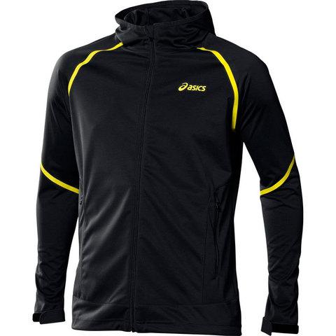 Ветровка Asics M's Fuji Softshell Jacket беговая черная