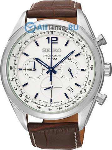 Купить Мужские японские наручные часы Seiko SSB095P1 по доступной цене