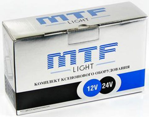 Комплект ксенона MTF Light HB4 (9006) (6000K)