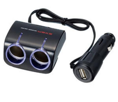 Разветвитель + USB EM-112