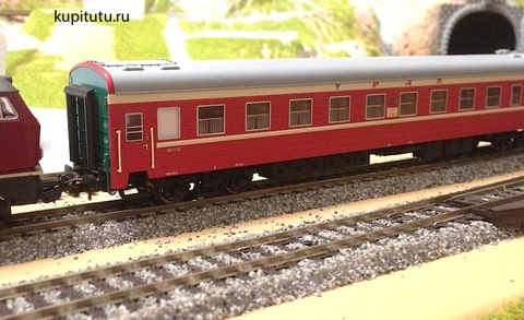 Eurotrain 0212/1 Пассажирский вагон ЦМВ