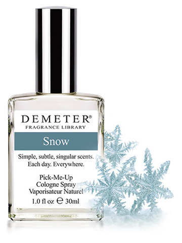 Духи «Снег» от Demeter