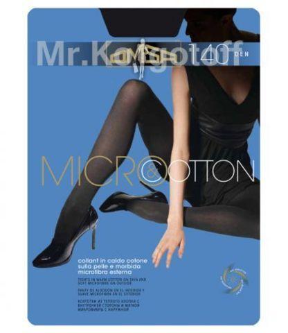 Колготки Omsa Micro & Cotton 140