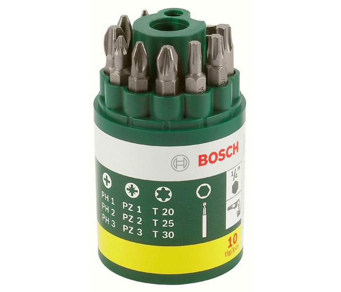9 бит + универсальный держатель Promoline Bosch 2607019452