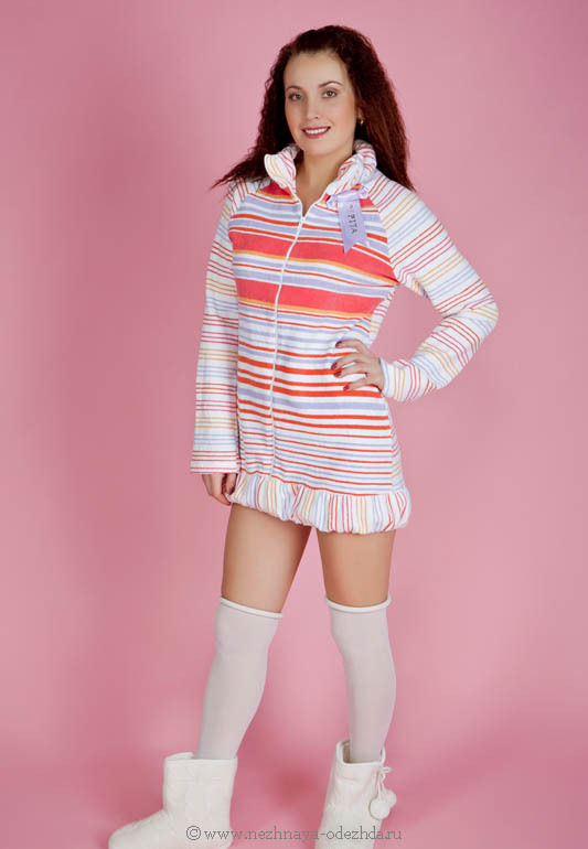 Мягкий женский халат Pepita (Женские халаты)