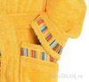 Элитный халат детский махровый Yupi желтый от Caleffi