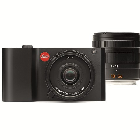 Leica T Kit Vario-Elmar-T 18-56 mm/f3.5-5.6 ASPH+Summicron-T 23 mm/f2 ASPH Black