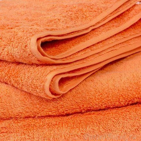 Полотенце 30x50 Cawo Life Style 7007 Uni мандариновое