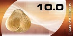 10 Очень светлый блондин