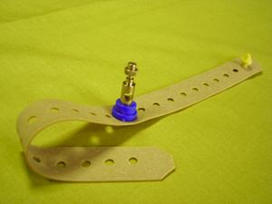 Электрод ЭКГ многоразовый на конечности с ремешком. Для детей от 0 до 3 лет