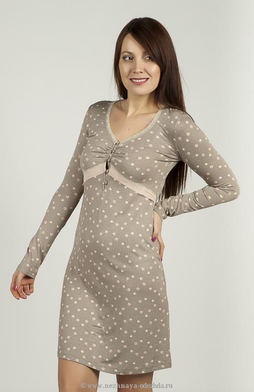 Женская сорочка для сна и отдыха Tata (Домашние платья и ночные сорочки)