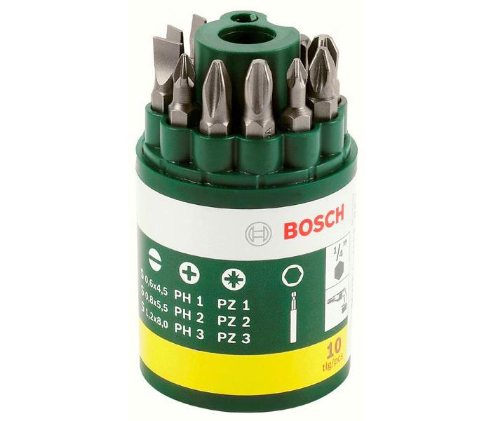 9 бит + универсальный держатель Promoline Bosch 2607019454
