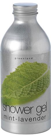 Гель для душа мята-лаванда, Greenland