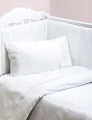 Бампер для детской кроватки 185х45 Bovi Тюльпан