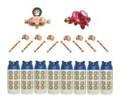 Установка GOK на 8 композитных баллонов   (Премиум)