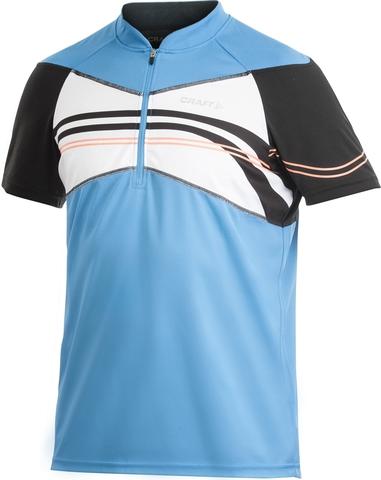Велофутболка Craft Active Bike Loosefit Jersey мужская голубая