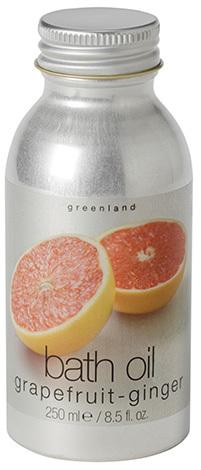 Масло для ванны грейпфрут-имбирь, Greenland