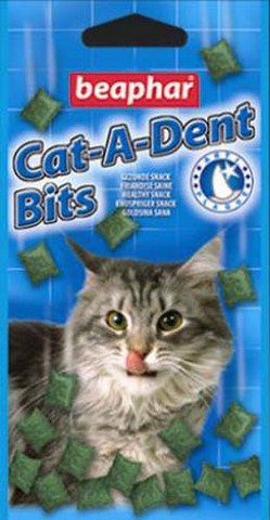 11404 Беафар Cat-a-dent Подушечки д/кошек для чистки 35гр*18*144